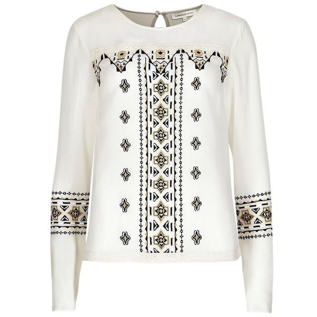 Embroidered blouse endource