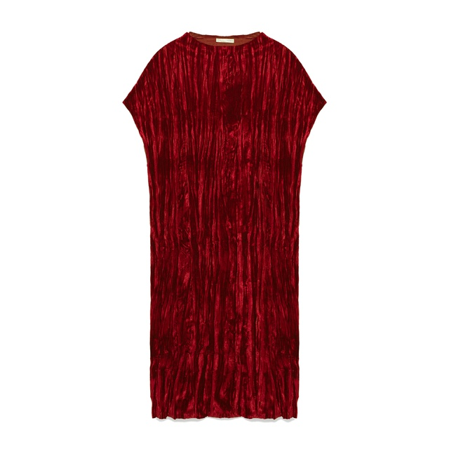 54a1f78e87 Crushed Velvet Dress