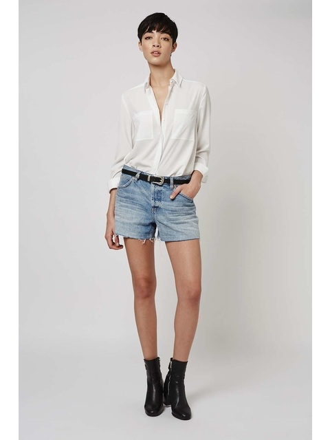 3896830148 Moto Vintage Ashley Boyfriend Shorts | Endource