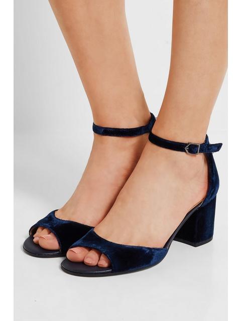 dbf532364803a3 Susie Velvet Sandals