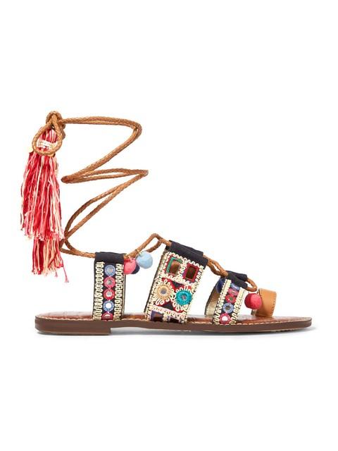 f3b44d2fcfc0 Gretchen Embroidered Sandals