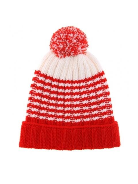 60c8243f70138 Striped Knit Hat