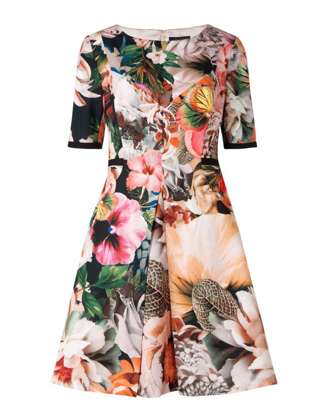 1d1b9b748 TIMLIAA Tangled floral print dress