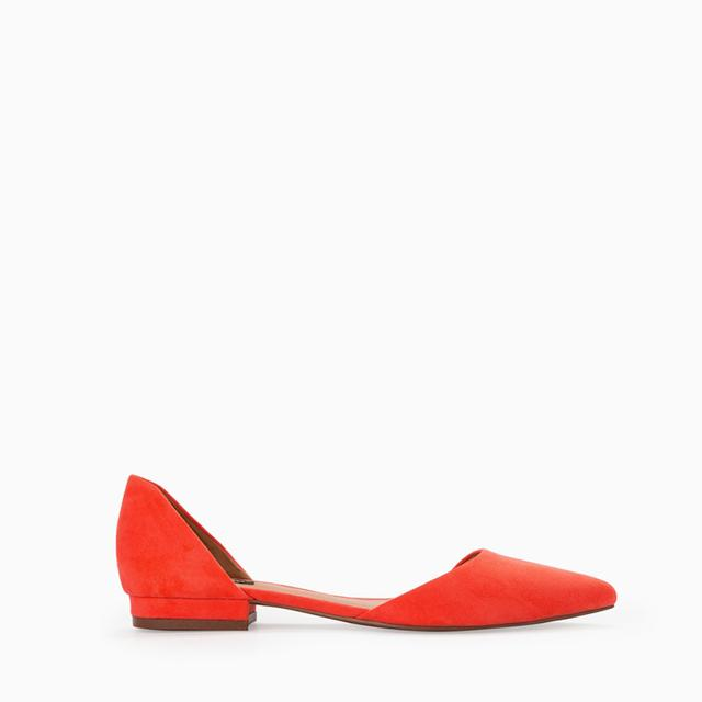 Pointed Toe Flat Shoes | Endource