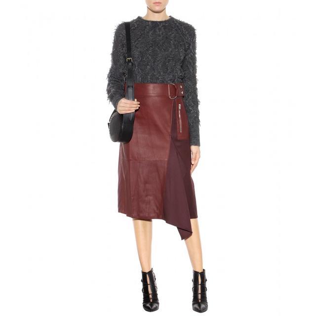 leather skirt endource