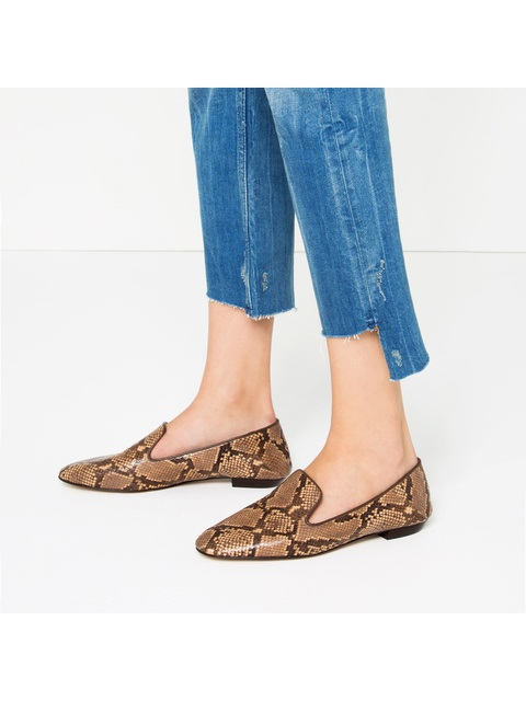 d590396c0413 Flat Python Loafers