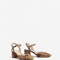 311377a02b96 Leather Leopard Shoes | Endource