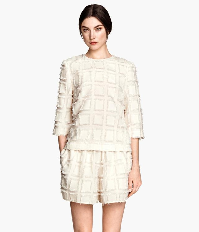 Jacquard-weave Top by H&m