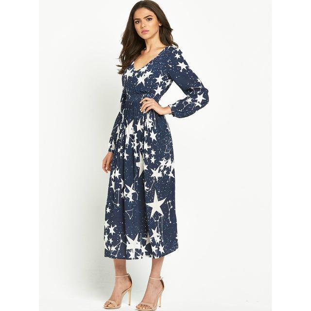 5a9ca74c84 Jessican Star Print Dress