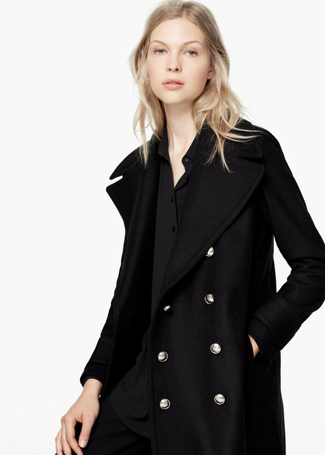 Long military coat endource for Boden jennie coat