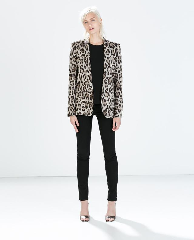 Going Back In Time A Few Weeks With This Outfit Featuring Black And White Leopard Coat From Zara That Surely Has Been My Best October