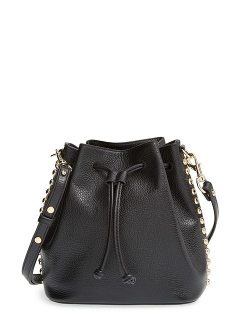 ad36b94b801 Studded Bucket Bag
