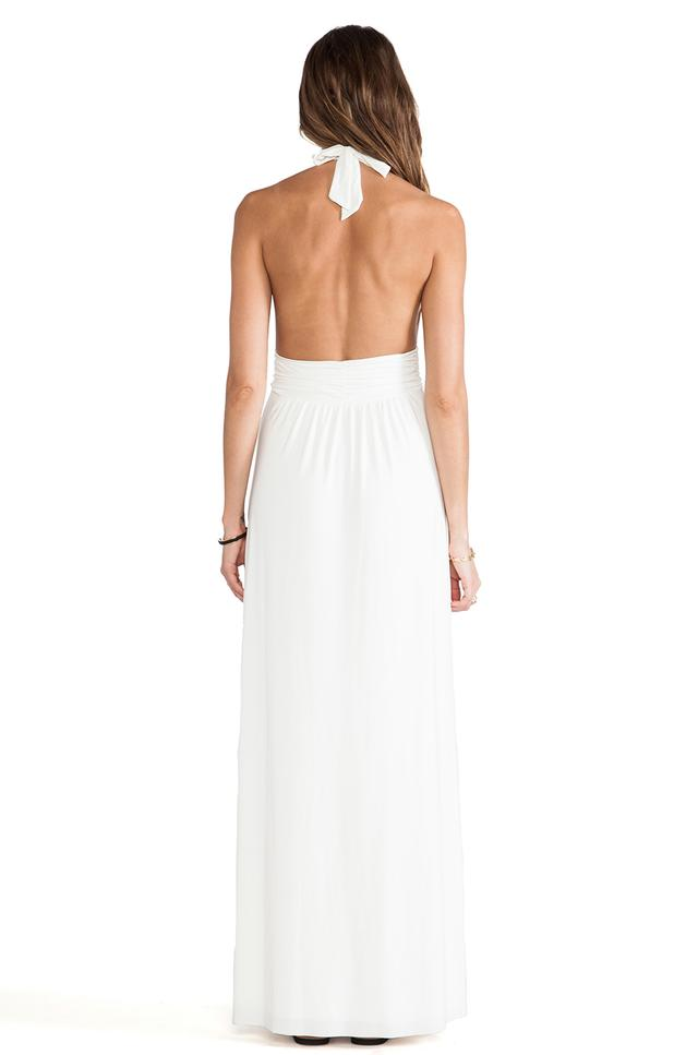 Plunging Halter Plunging Halter Maxi Dress by