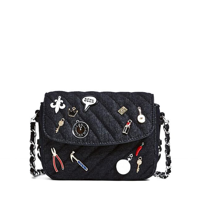 Denim Crossbody Bag Endource