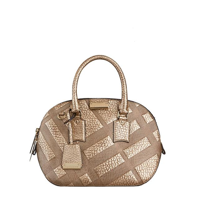 33a1d4293ac2 The Small Orchard in Embossed Check Leather