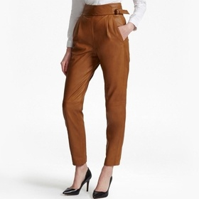 Goldenberg Leather Trousers by French Connection