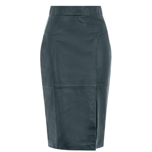 66ce38ca9 Madison Leather Pencil Skirt | Endource