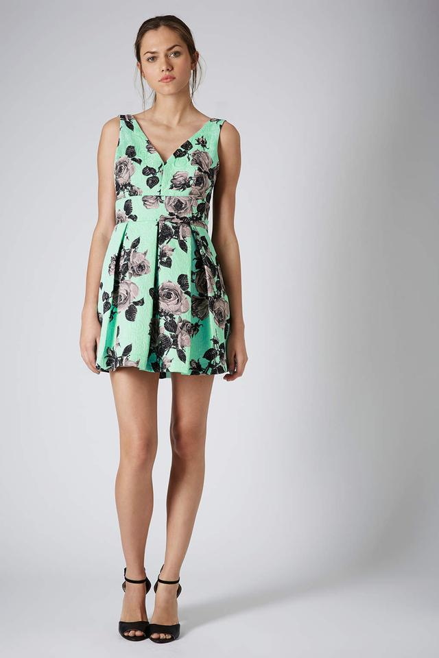 Topshop Stand out flower prom dress