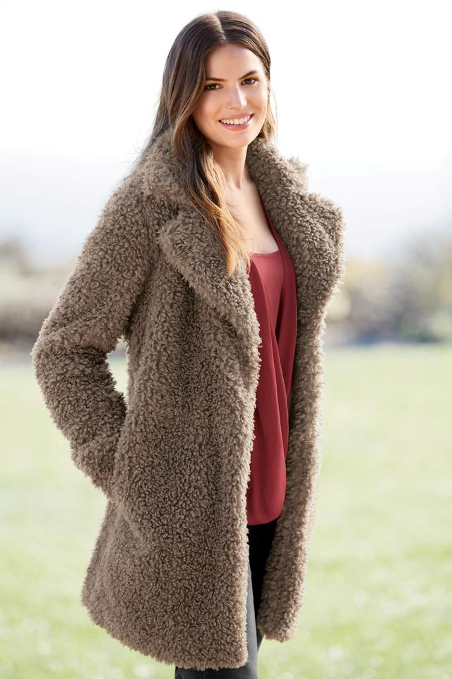 Teddy Faux Fur Jacket | Endource