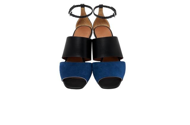 looking for cheap online cheap sale 2014 SportMax Colorblock Leather Sandals 0z4oP2ai1