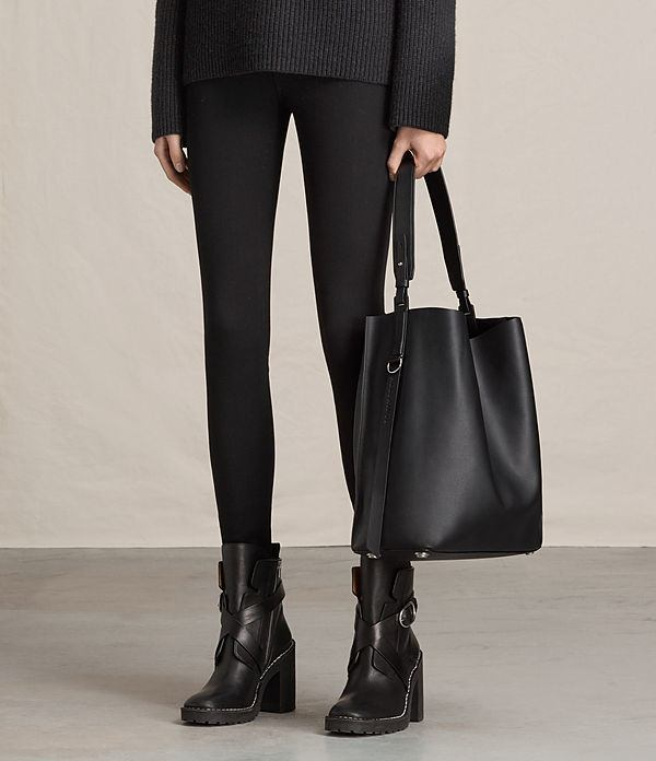 Cheap Sale High Quality Suzi Ns Tote Allsaints Discount Official Cheap Pay With Paypal Clearance Discounts Cheap Sale Browse Bl129OR
