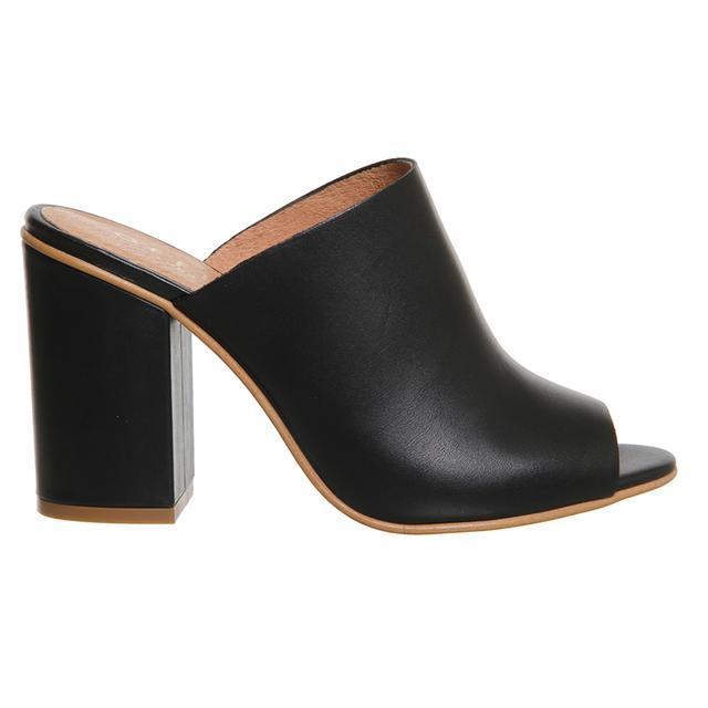 Pose Block Heel Mules