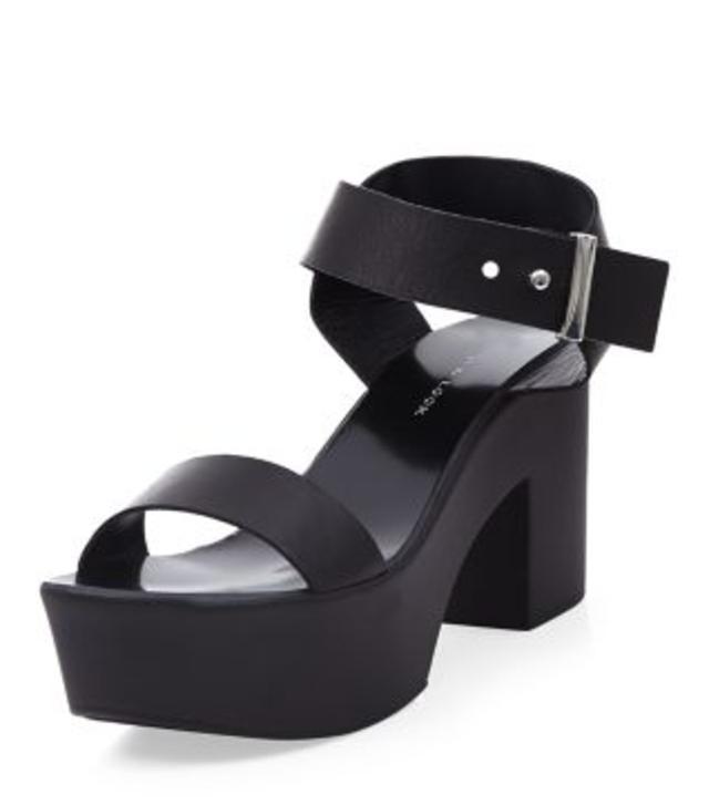Chunky Block Heel Sandals   Endource