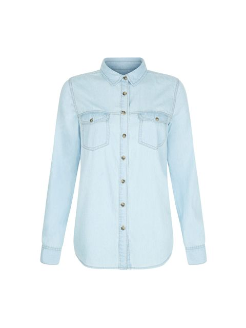 14191be106e Denim Long Sleeve Shirt