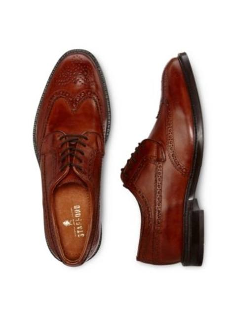 72f85da419b Stafford® Logan Mens Wingtip Oxfords