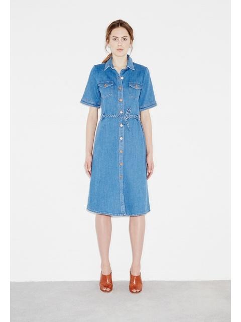 eec402560cd 70s Denim Dress