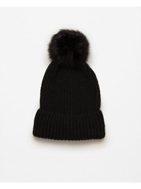 8a913261 Pom Pom Rib Knit Hat | Endource