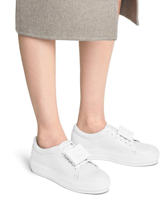 Adriana grained sneakers Acne Studios 9RsIViDYX