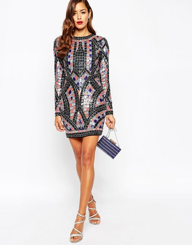 Red Carpet Sequin Dress Endource