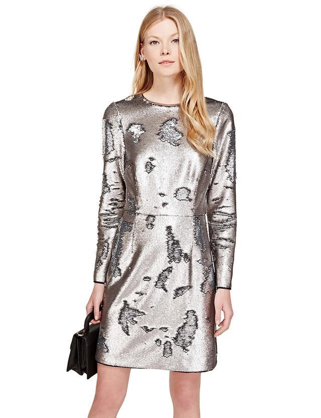 Sequin Embellished Dress | Endource