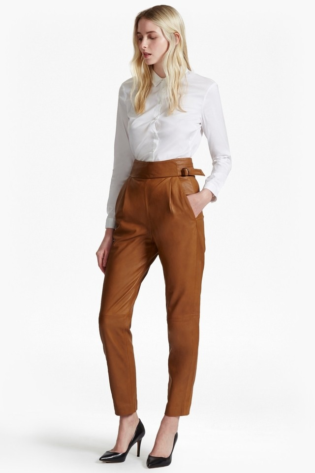 Goldenberg Leather Trousers Endource