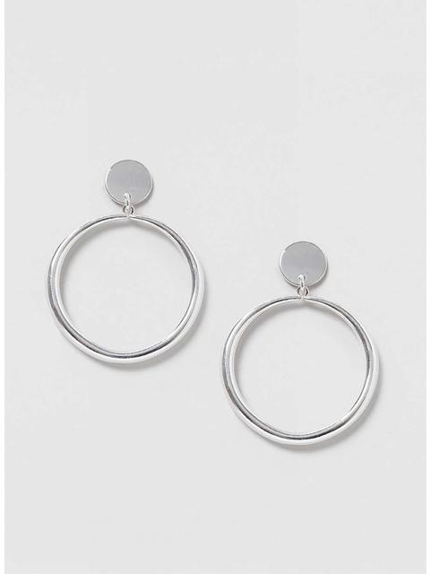 29330fc4b Drop Hoop Earrings | Endource