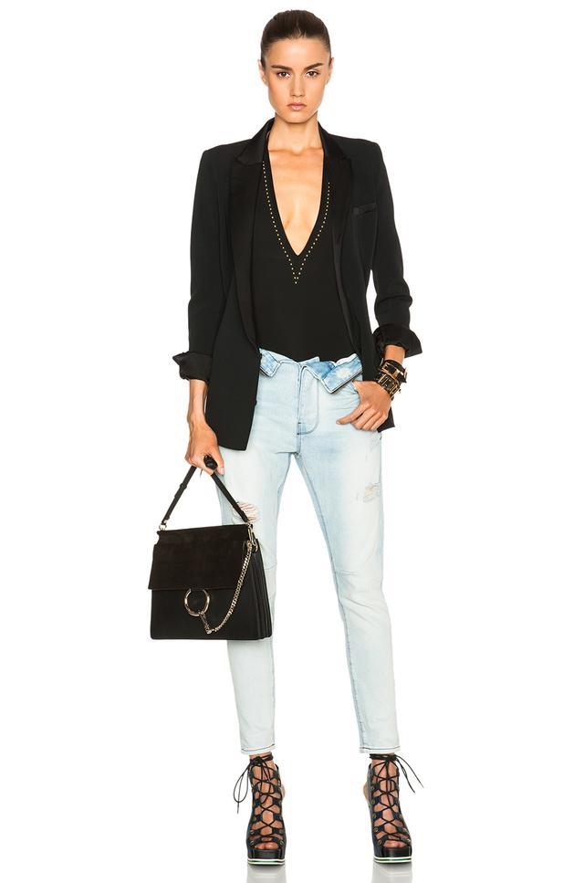 Affordable Cheap Online Outlet Websites Black Medium Faye Bag Chloé Cheap Price Pre Order 7vEx4eUL