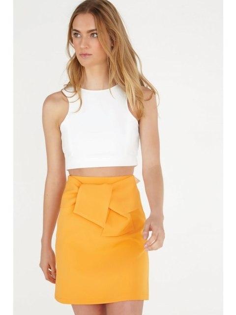 Tie-front Skirt  dcff9ec6d3