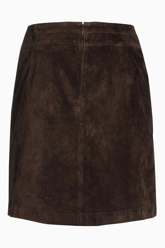 suede a line skirt endource