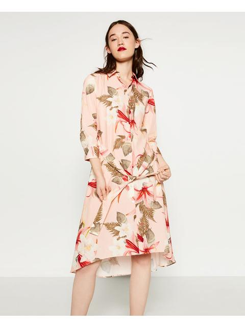 f6bafba7284 Floral Tunic Dress | Endource