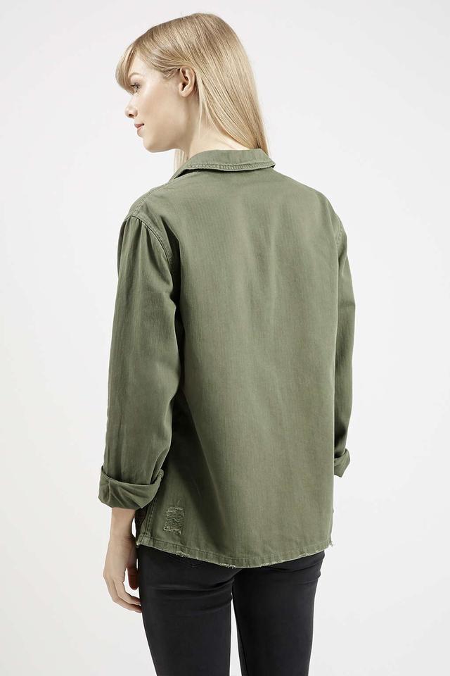 utility shirt jacket endource. Black Bedroom Furniture Sets. Home Design Ideas