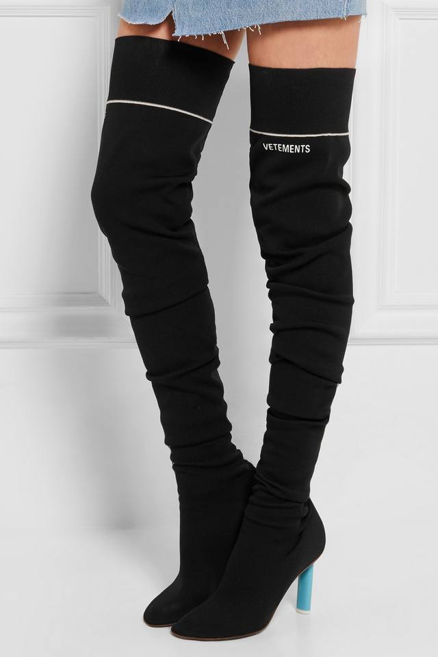 Sock Over The Knee Boots Endource
