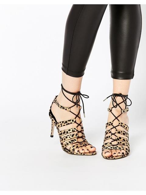 6b17fa444e2a Lace Up Heeled Sandals