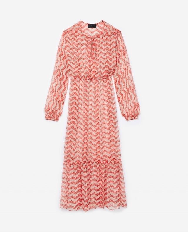 ec92e3e18bd Jasmine Print Silk Dress | Endource