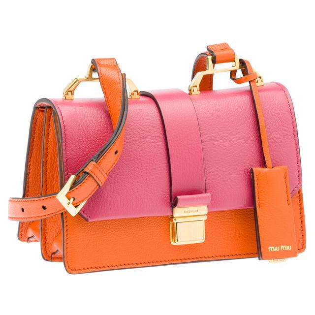 Miu Miu Pink Madras Bag