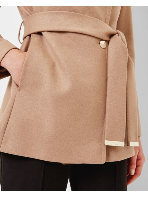 22eb778688f5e Elethea Short Wrap Coat