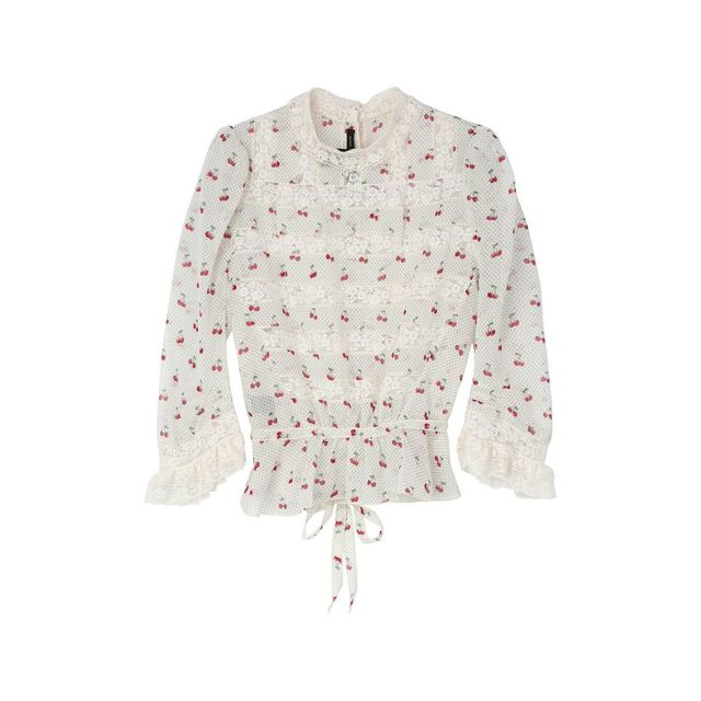 cherry pin dot voile blouse. £345. prev. next. Marc by Marc Jacobs