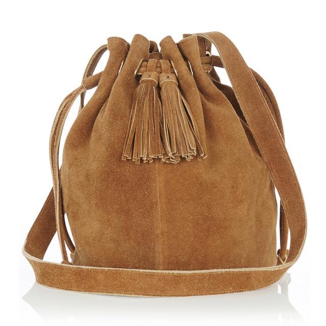 Suede Tassel Duffle Bag | Endource