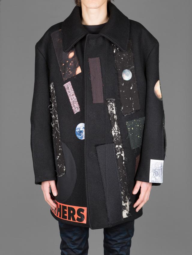 Raf Simons Big Caban With Sterling Ruby Collages Endource