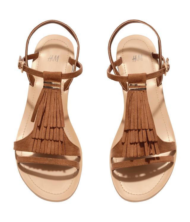 Fringed Sandals H&m